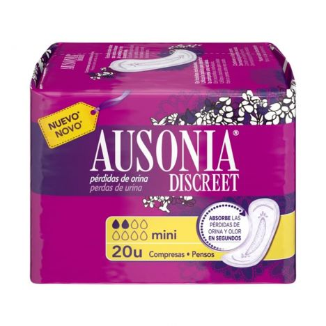 Ausonia Compresas Discreet Mini 20 Uds