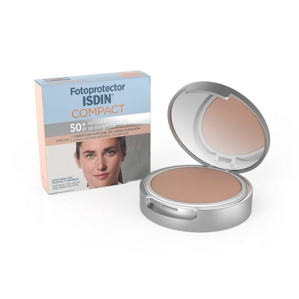 Isdin Fotoprotector Maquillaje Compacto Arena SPF50+ 10gr