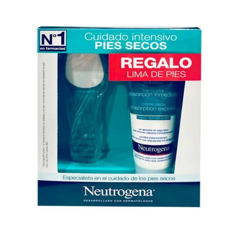 Neutrogena Pies Absorcion Inmediata 100ml + Regalo Lima