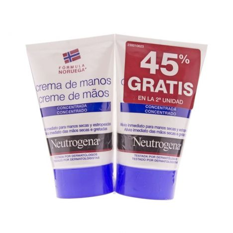 Neutrogena Pack Manos Azul 2x50ml
