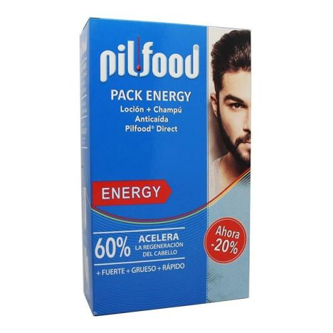 Pilfood Pack Energy Hombre Locion 125ml + Champu 200ml