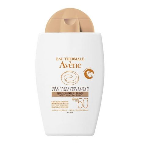 Avene Solar SPF50+ Fluido Mineral Color 40ml