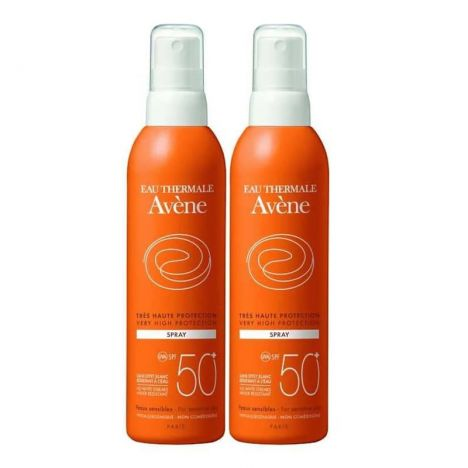 Avene Solar SPF50+ Spray 200+200 ml
