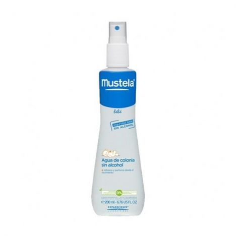 MUSTELA AGUA DE COLONIA SIN ALCOHOL 200ml.