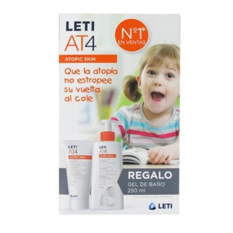 Leti At4 Crema Emoliente Intensive 100ml + Regalo Gel 250ml