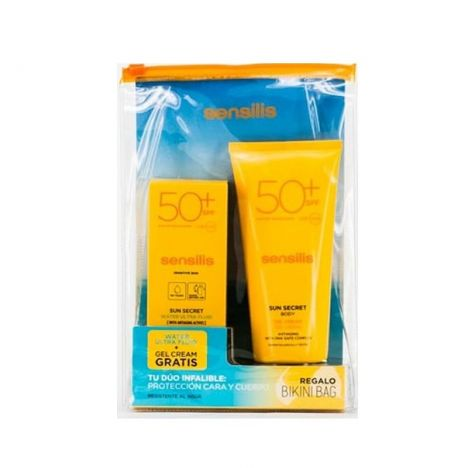 Sensilis Sun SPF50+ 40 ml + Gel Crema Fresco SPF50+ 200ml