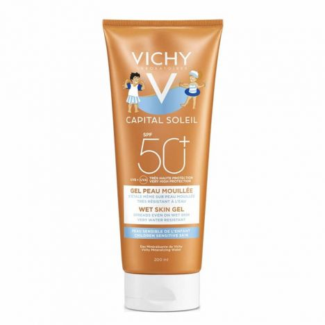 Vichy Captial Soleil SPF50+ Pediátrico Gel Wet Skin 200 ml