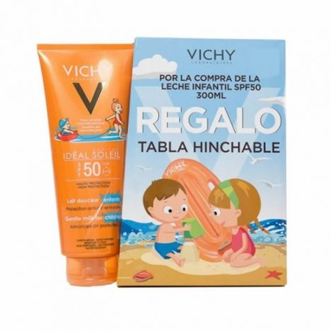 Vichy Ideal Soleil SPF50+ Pediatrico Leche Corporal 300ml + Regalo