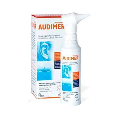 AUDIMER LIMPIEZA AUDITIVA 60ml.