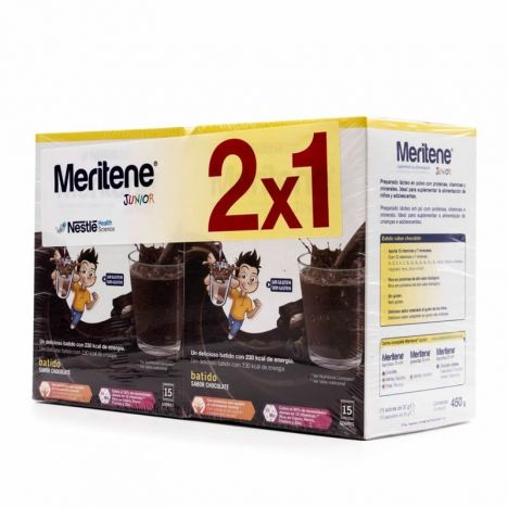 Meritene Chocolate 15 + 15 Sobres