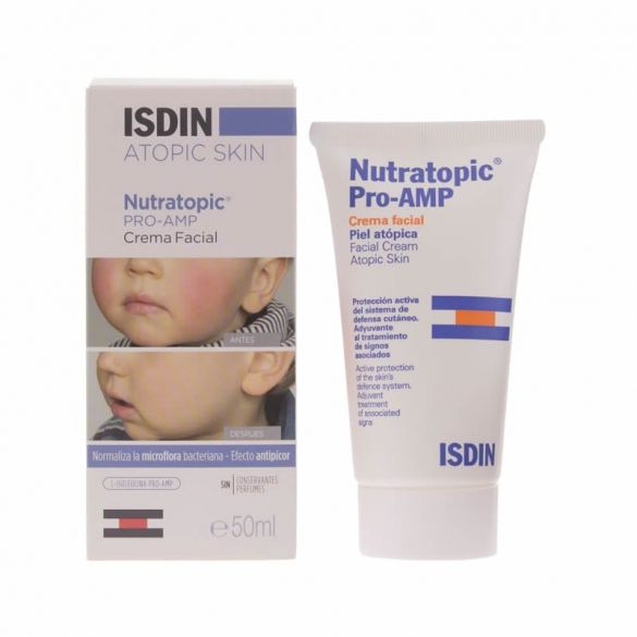 Isdin Nutratopic Crema Facial 50 ml