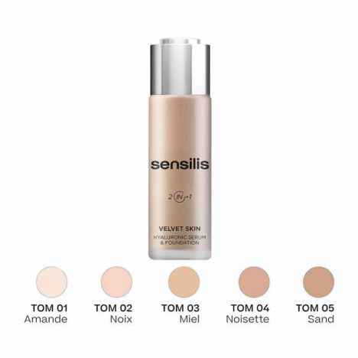 Sensilis Base De Maquillaje Velvet Skin 01 Amande 30Gr