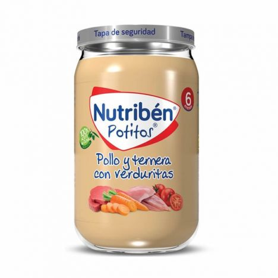 Nutriben Pollo Ternera Y Verduras 250Gr