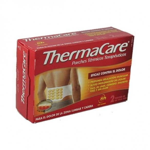 THERMACARE PARCHE LUMBAR 2UNID