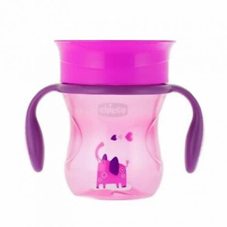 Chicco Vaso Perfect +12M 360º Niña 200 ml