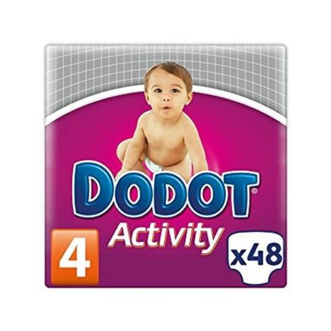 Dodot Activity Talla 4 (8-14 Kg) 48 Unidades