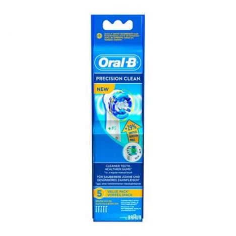 Oral B Recambio Cepillo Electrico Precision Clean 5 Uds