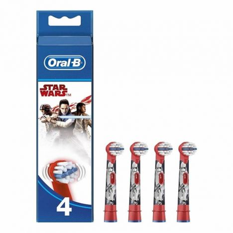 Oral B Recambio Cepillo Electrico Star Wars 4 Uds