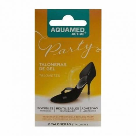 Aquamed Taloneras De Gel 2uds