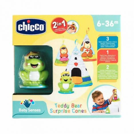 Chicco Toy Teddy Conos Magicos