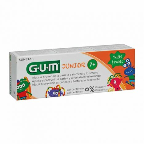 Gum Junior Gel Dentífrico Sabor Tutti Frutti 50ml