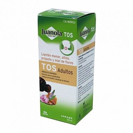 Juanola Tos Jarabe Adultos 150ml