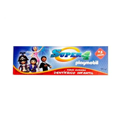 Kin Cepillo Dental Super 4 Playmobil