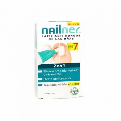 Nailner Lápiz Anti Hongos 2 En 1 4ml