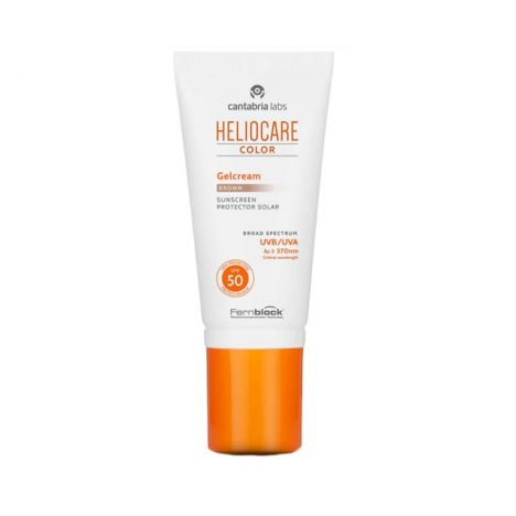 HELIOCARE COLOR GEL CREMA BROWN SPF50 50ml.