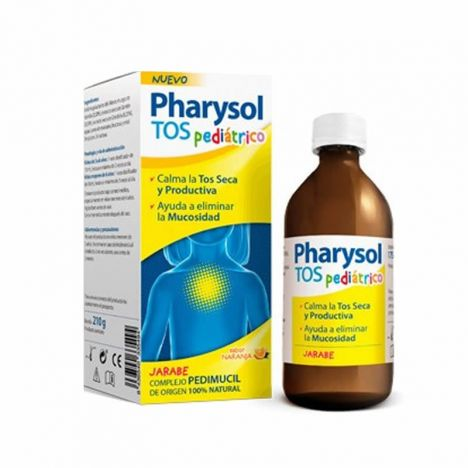 Pharysol Jarabe Tos Pediatrico 175ml
