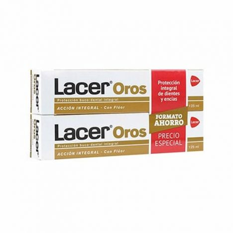 Lacer Oros Pasta Dentífrica 125ml + 125ml