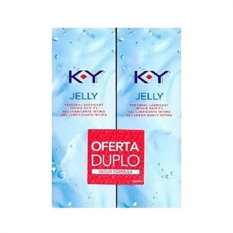 DUREX PLAY K-Y LUBRICANTE 2X75ml.