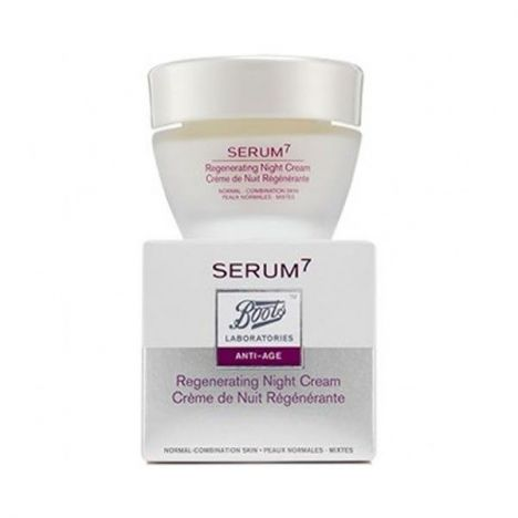 Serum 7 Beauty Crema Noche Normal Y Mixta 50ml