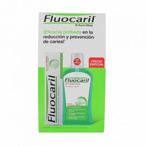 Fluocaril Pack Pasta Dentifrica 125ml + Colutorio 500ml